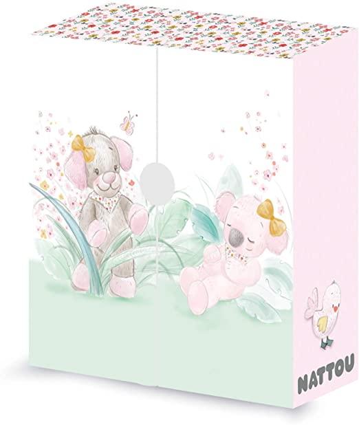 Boîte à souvenirs Nattou Iris&Lali