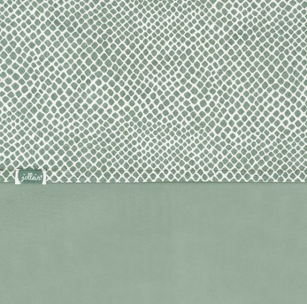 Garniture de lit  Snake ash green